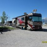 Pull thru RV site at Mt Princeton RV Park & Cabins in Buena Vista CO