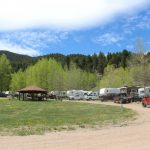 Campers at Aspen Acres Campground in Rye CO