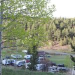 Campers at Aspen Acres Campground in Rye Colorado