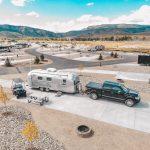 RVs at River Run RV Resort in Granby CO