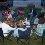 Social times at Snowy Peaks Campground in Buena Vista CO