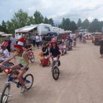 4th of July parade Colorado Heights Camping Resort in Monument Colorado!