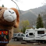 Trailer Park and camping at 4j+1+1 RV Park and Campground in Ouray, CO