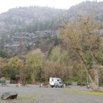 Scenic moutain views at4j+1+1 RV Park and Campground in Ouray, Colorado