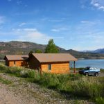 Our cabins camping options at Blue Mesa Escape, west of Gunnison Colorado