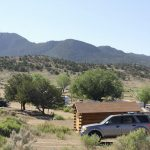 Open sites to see the majestic mountain views at Buena Vista KOA