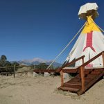 Glamping Tepee at Buena Vista KOA (posted on their FB page)