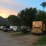 RV sites at Westerly RV Park with plenty of shade!