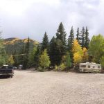 Quiet and secluded camping sites in Lake City at Highlander RV Campground
