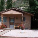 Cabin at CanyonSide Campground in Bellvue on Poudre Canyon Hwy