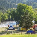 Tent camping at CanyonSide Campground in Bellvue on Poudre Canyon Hwy