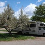 RV sites at Westerly RV Park