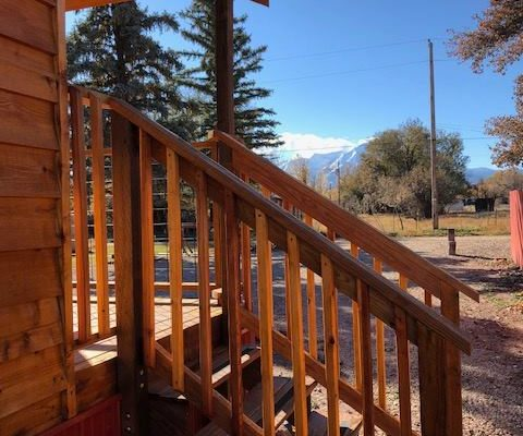 Circle The Wagons RV Park vacation rental cabin in La Veta CO