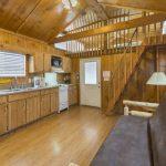 Colorado Springs KOA camping cabins lodge interior
