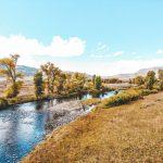 Scenic stream near River Run RV Resort in Granby CO
