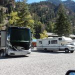 RV sites at Ouray Riverside Resort in Ouray Colorado