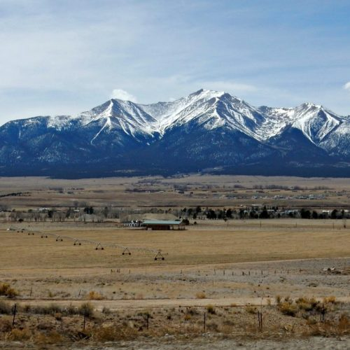 Mt Princeton, one of Colorado's 14ers