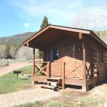 Rental cabin at Aspen Acres Campground in Rye CO