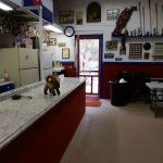 Group area clubhouse at Circle the Wagon RV Park (La Veta CO)