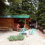Priest Gulch Campground near Dolores Colorado offers RV sites, tent camping and vacation cabin rentals