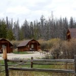 Camper Cabin at Elk Creek Campground & RV Park in Grand Lake CO