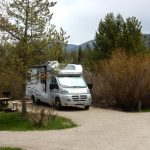 RV Site at Elk Creek Campground & RV Park in Grand Lake CO