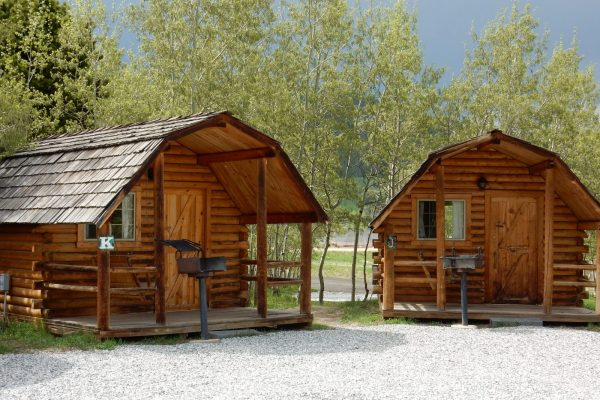 Base Camp at Golden Gate Canyon offers cabins, RV sites and tent camping. (Black Hawk CO)