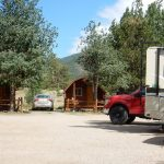 Estes Park KOA Colorado destination campground has rental cabins