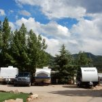 Estes Park KOA Colorado destination campground offers tent camping, RV sites and a variety of rental cabins