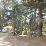 A tent campsite at Jellystone Park™ of Estes in Estes Park Colorado