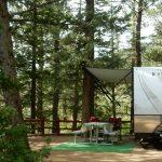 An RV site at Jellystone Park™ of Estes in Estes Park Colorado