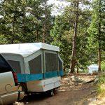 A campsite at Jellystone Park™ of Estes in Estes Park Colorado