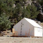Glamping cabin at Buena Vista KOA