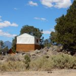 Glamping Canvas glamping cabin at Buena Vista KOA
