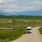 The road from Pagosa Springs to Sportsman's Campground and Mountain Cabins surrounds you with majestic beauty