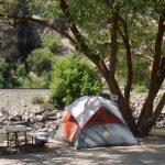 Glenwood Canyon Resort has RV sites, tent camping and vacation cabin and glamping safari tent rentals (Glenwood Springs Colorado)
