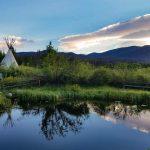 Tipi glamping at Elk Creek Campground (Grand Lake)