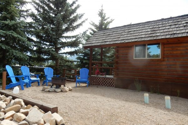 Estes Park KOA Vacation cabin rental in Colorado