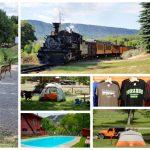 United Campground of Durango collage