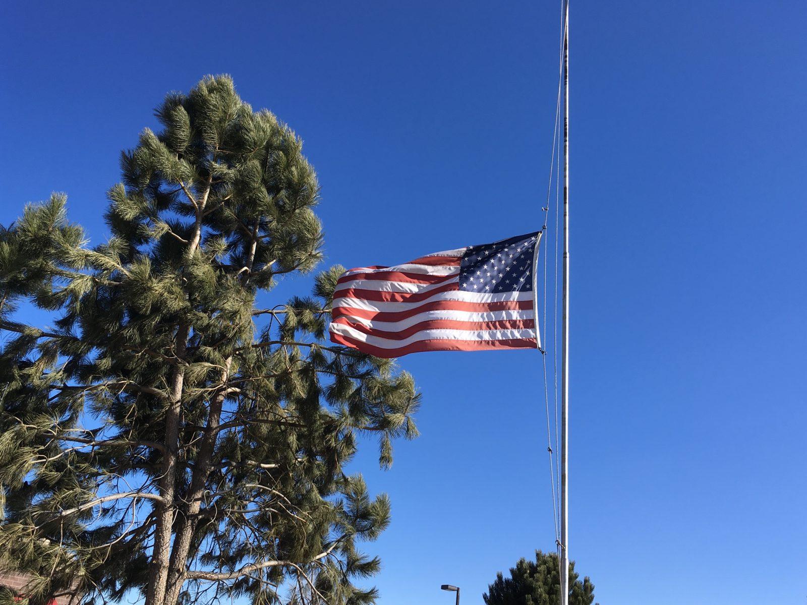 Flag at Loveland RV Resort