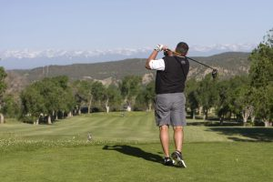 Golfing in Trinidad photo by Matt Inden/Miles through the Colorado Tourism Office