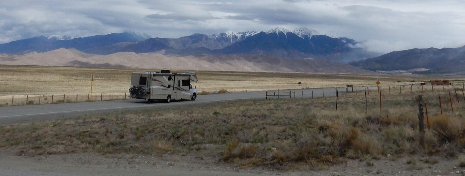 Camping Vacation in Colorado's Mystic San Luis Valley