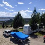 Blue Mesa Reservoir is right across the street from Gunnison Lakeside RV and Cabins