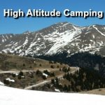 Camping at High Altitudes
