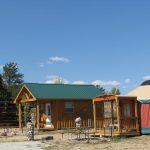 Loft cabins and Yurts