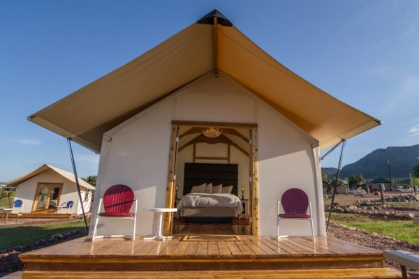 Royal Gorge Cabins for your Cañon City camping GLAMPING vacation.