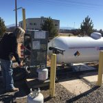 Junction West RV Park, in Grand Junction Colorado refills propane or LP