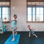 Yoga at River Run RV Resort in Granby Colorado