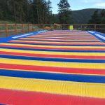 Jumping pad at at Jellystone Park™ of Estes in Estes Park Colorado
