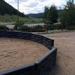 Gaga ball court at at Jellystone Park™ of Estes in Estes Park Colorado
